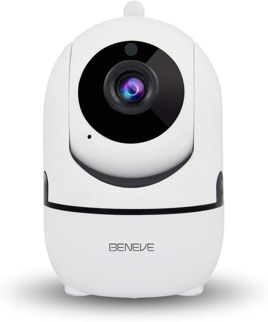 Wireless WiFi Camera IP 1080P,Security Surveillance for Home Baby Elder Pet Nanny Monitor,Pan Tilt,Two-Way Audio,Motion Detection Night Vision with iOS, Android App- Cloud Storage IPC003