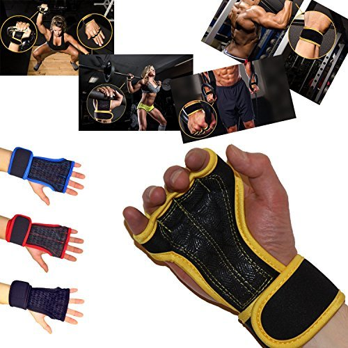 Weight Lifting Gloves With 12