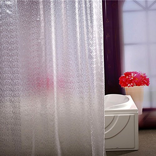 Wimaha Shower Curtain Mildew Resistant