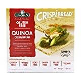 Orgran Toasted Multigrain Crispibread with Quinoa, 4.4-Ounce Boxes (Pack of 6)