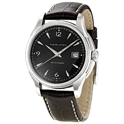 Hamilton Men's H32515535 Jazzmaster Analog Display Brown Watch