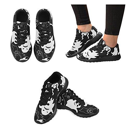 Interestprint Femmes Jogging Running Sneaker Léger Aller Facile Marche Confort Chaussures De Sport Effrayant Fantôme Imprimer
