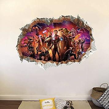 Marvel Avengers Wall Sticker 3d Boys Girls Bedroom Vinyl Wall Art Decal,Hemingway Home Key West Florida