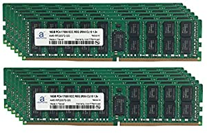 Adamanta 192GB (12x16GB) Server Memory Upgrade for Cisco UCS B200 M4 Blade Server DDR4 2133 PC4-17000 ECC Registered 2Rx4 CL15 1.2v RAM