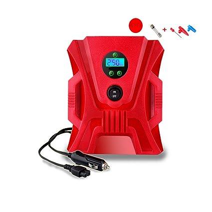 WEDEHANGE Inflador De Neumático Digital 1 Conjunto De 12V Kit De Herramienta De Bomba De Compresor