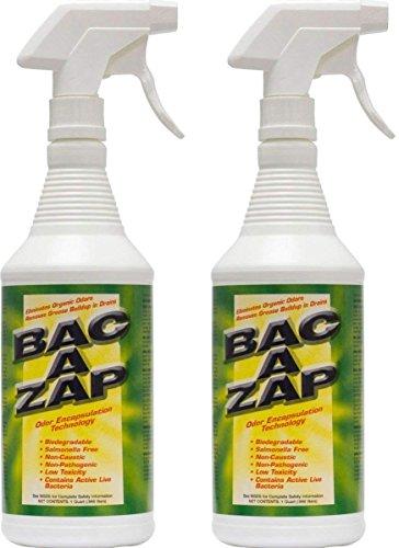 - Bac-A-Zap Odor Eliminator - Quart (2-Pack)