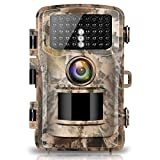 "Campark Trail Camera 14MP 1080P 2.4"" LCD Game & Hunting Camera with 42pcs"