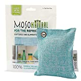 Moso Natural Air Purifying Bag Deodorizer. Refrigerator Odor Eliminator Absorbs and Removes Fridge and Freezer Odors