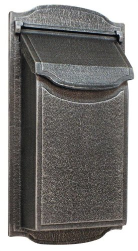 Contemporary Vertical Wall Mounted Mailbox Finish: Swedish Silver by Special Lite