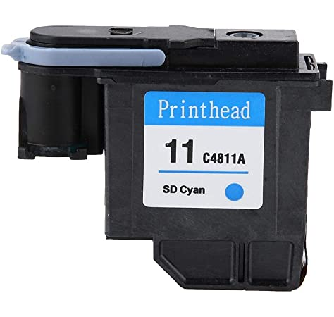 HP C4811A -Cabezal de impresión HP 11, cian: Hp: Amazon.es ...