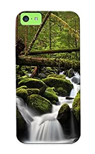 For Iphone 5c Fashion Design Foamy Waterfall Case-PcXgUqC321KmyAP / Cover Specially Made For Thanksgiving Day's Gift by lolosakes