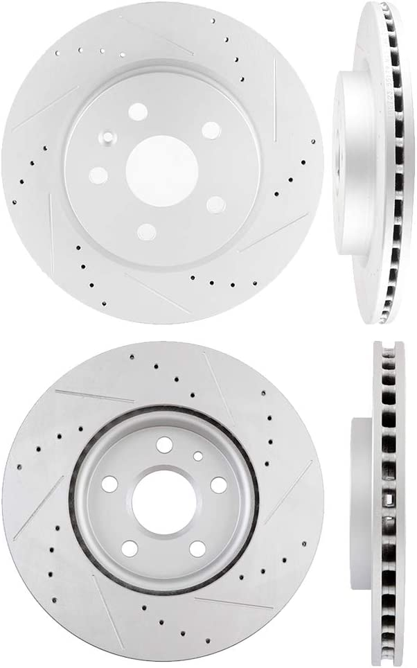 4X Rear Ceramic Brake Pads Fits 2013 2014 2015 Chevy Malibu Performance Hardware