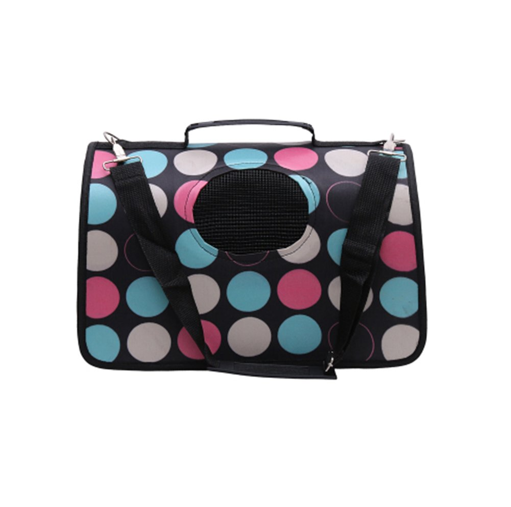 Pet Carrier Soft Sided Travel Bag for Small Dogs & Cats- Airline Approved  41