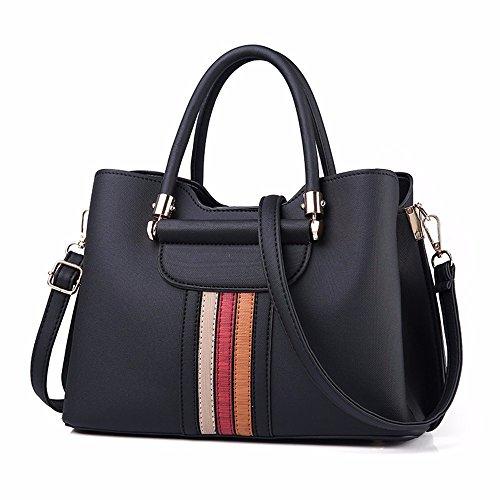 black Style Mode Black Américaine Sac Sac Nouveau Européenne Gxinyanlong F1gZpzw6qw
