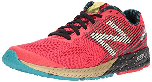 New Balance Damen W1400v5 Laufschuhe, Energy Red/Gold