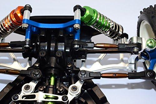 1Pr Tamiya TT02B Spring Steel Front Upper Tie Rod With Plastic Ends
