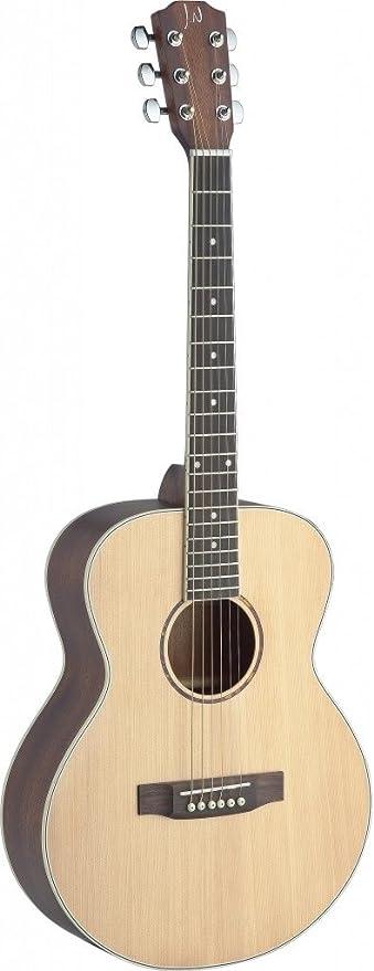 James Neligan ASY-A MINI viaje de la guitarra acústica de abeto sólida/Caoba bolsillo naturales: Amazon.es: Instrumentos musicales