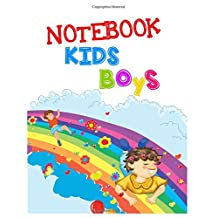 Notebook Kids Boys: 8.5 x 11, 108 Lined Pages (diary, notebook, journal, workbook)