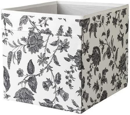 IKEA estante drona caja de estantería para - 33 x 38 x 33 cm (anchura x profundidad x) - blanco gris adornos - para Kallax, Expedit, Besta, etc.: Amazon.es: Hogar