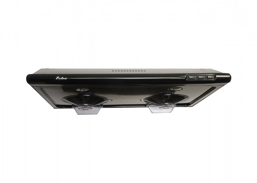 Cyclone CY1011R-B 680CFM High-Powered Under-Mount Range Hood, Classic Collection, 30'', Black