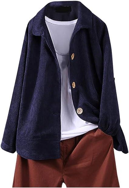 Manteau Velours Côtelé Femme Capuche Vintage Grande Taille