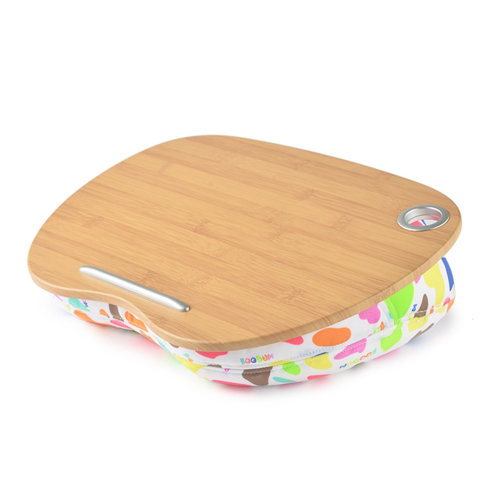 EQ Rabbit Laptop Desk with Confortable Cushion (Multicoloured) Apply to Travel,Work or Study