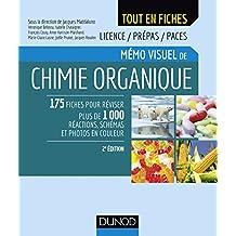 Mémo visuel de chimie organique - 2e éd. (Tout en fiches) (French Edition)
