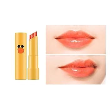 Missha X Line Friends Sally Collaboration Coloring Lip Tint Balm 4 5g [Joy  to You - Orange]