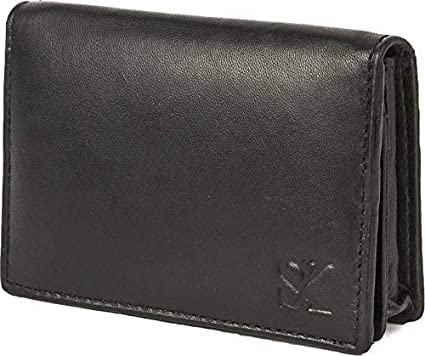 STYLER KING Genuine Leather 6 Card Holder nbsp; nbsp; Set of 1 Black
