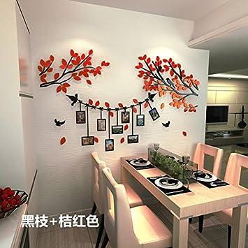 HCCY 3D Stereo Bilder Baum Wall Sticker Crystal Acryl Sofa Im Wohnzimmer  Schlafzimmer Bett Warm