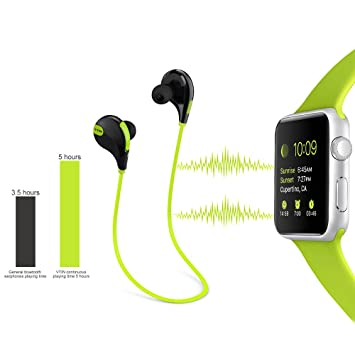 VTin Bluetooth 4.0 auriculares APTX y A2DP para basculador, Correr, running, Deporte con