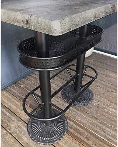 MATHI DESIGN Table Haute Industrielle Oakland