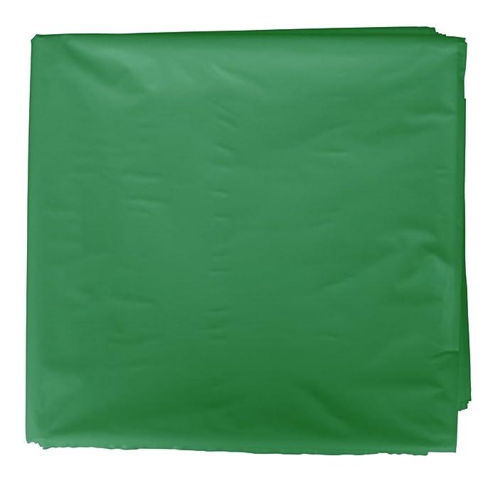 Fixo 72222 - Pack de 25 bolsas disfraz, 56 x 70 cm, color verde oscuro
