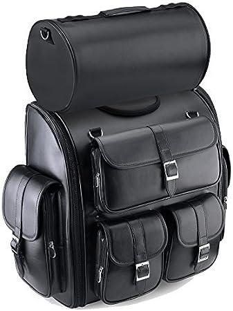 Custom//Iron//Low//Nightster//Sport Sportster 1200 CA//CB Custom Softail//Sport Glide//Springer//Standard//Street Bob Sissy Bar Bag SXL for Harley Davidson Sportster 1200