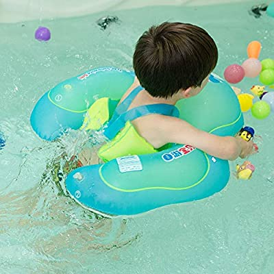 relaxing baby Swimming Baby Float for Pool, Toddler Floaties Baby Tube for The Age of 8 Months-2 Years (L): Toys & Games