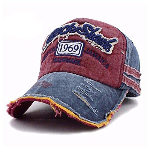 Rock Shark Kingston 1969 Jamaica Distressed Vintage Trucker Baseball Cap Snapback Sports Outdoors Hat