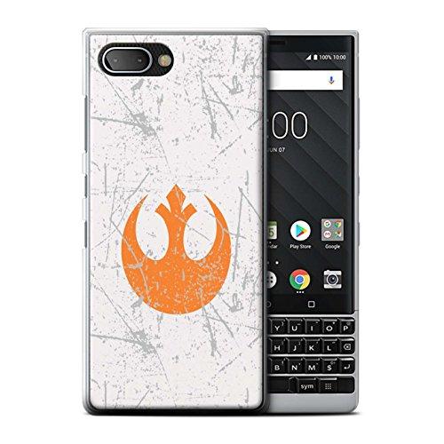 STUFF4 Phone Case/Cover for BlackBerry KEY2/BBF100 / Rebel Alliance Inspired Design/Galactic Symbol Art Collection (Case Blackberry Storm)