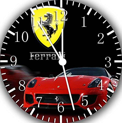 Ferrari Super Car Frameless Borderless Wall Clock W231 Nice For Gift or Room Wall Decor by Frameless Clock
