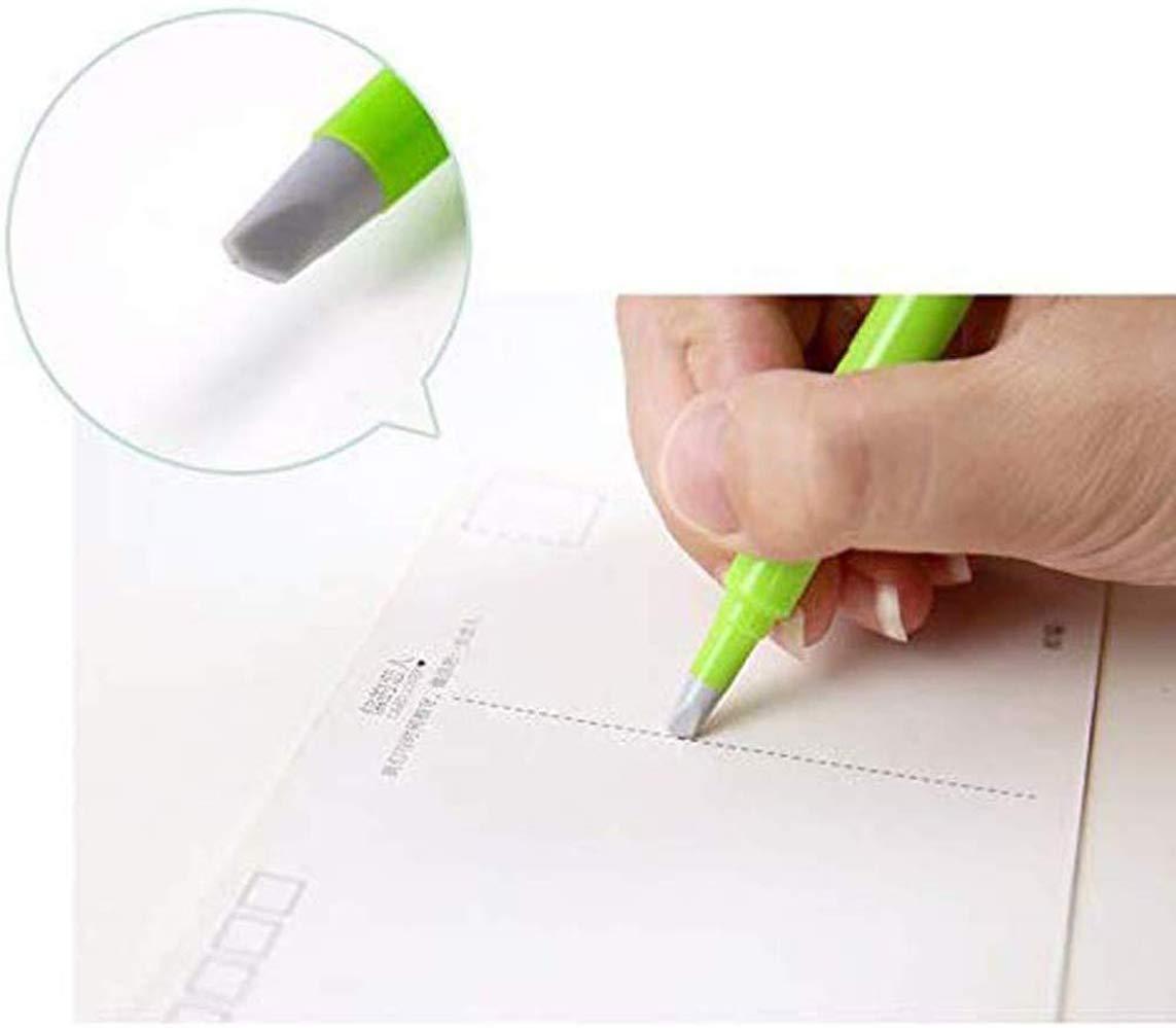 Pluma de corte de papel de cer/ámica Rosado hoja de cer/ámica de forma de pluma creativa cortadores de pluma de papel durables sin /óxido oficina en casa cuchillo de arte de segurida