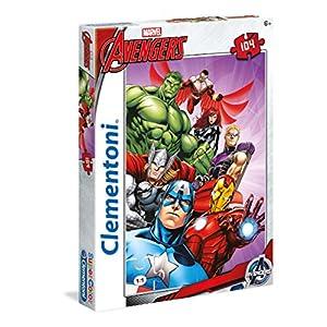 Clementoni Avengers Supercolor Puzzle Multicolore 104 Pezzi 27931