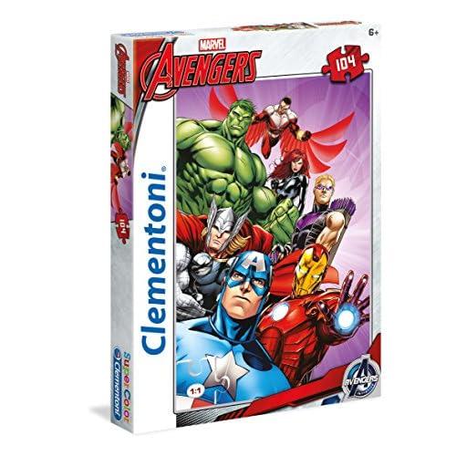 Clementoni 27931.9 - Puzzle - Avengers - 104 Pièces