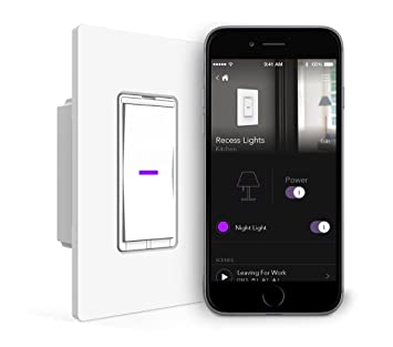 IDevices Wall Switch Wifi Smart Light Switch No Hub Required - 4 way switch how it works