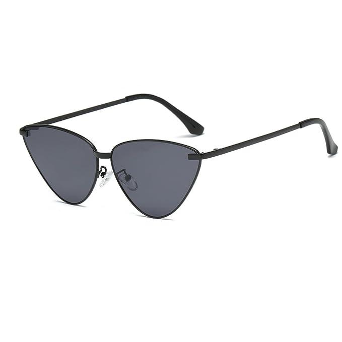 f348b6195abb Amazon.com: FAGUMA Vintage Cat Eye Sunglasses For Women Metal Frame ...