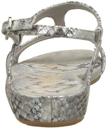 Unisa Para Abierta Sandalias Con Plateado silver vpl Punta Alace Mujer 4x1pqrYw4