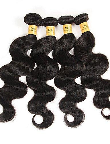 Jff 3 natural Brésilien Humains 28 26 Cheveux Brésiliens Black Corps 24 Transformés Vierges Vague Beaucoup Non 6a Pcs De gSnqrgpw