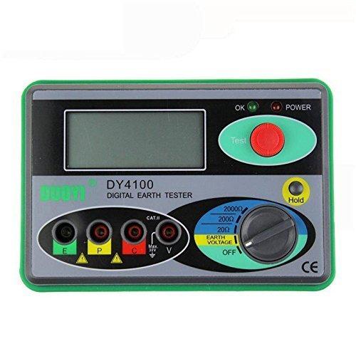 Medidor de Resistencia de tierra DY4100