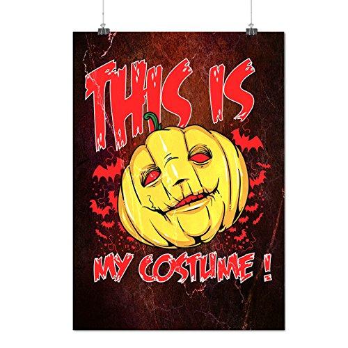 Halloween Costume Horror Matte/Glossy Poster A2 (60cm x 42cm) | Wellcoda - Scully Mulder Costume