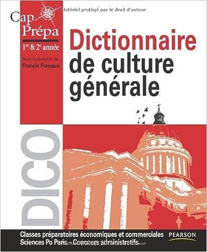 Culture générale économie pdf