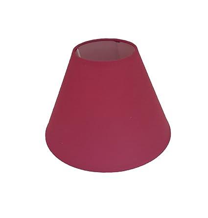 Pantalla de lino para lámpara de techo o mesa, color negro, crema, azul, verde, azul marino, melocotón, rojo (22,86 cm)