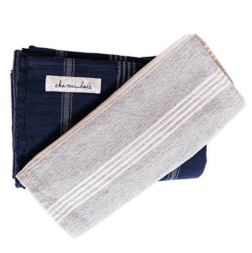 Cheap Ekaminhale Organic Yoga Blanket (Blue)